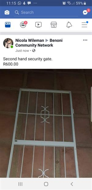 Second Hand Security Gate