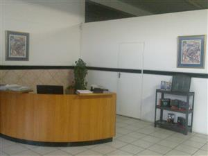 CURVED RECEPTION DESK IDEAL FOR SMALL BUSINESS ADMIN WORK STATION