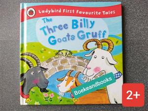 The Three Billy Goats Gruff - Ladybird First Favourite Tales - Irene Yates.