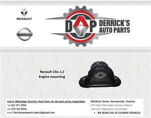 RENAULT CLIO 1.2 ENGINE MOUNTING FOR SALE