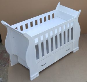 Sleigh Cot for Sale Duw 02