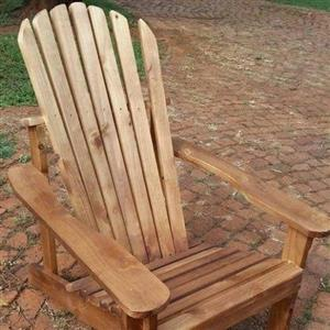 Pine Deck Chairs