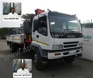 Isuzu FTR800 used crane truck - AA2797