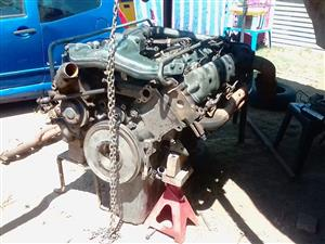 ADE 422 twin turbo engine for sale. Reconditioned. R50000