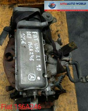 imported used FIAT UNO-II 1.0L,156a246, Complete second hand used engines