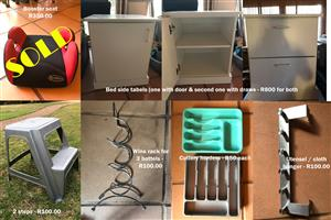 URGENT sale of unwanted household items