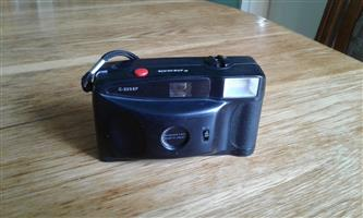 PANASONIC CAMERA C-225EF WITH CARRY CASE.