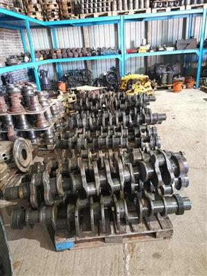 Komatsu crankshafts for all engines type