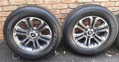 2019 Mitsubishi Triton Rims & Tyres