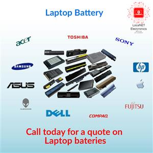 Assorted Laptop Batteries