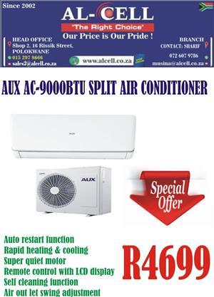 AUX AC-9000BTU SPLIT AIR CONDITIONER