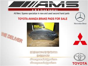 TOYOTA AVANZA BRAKE PADS FOR SALE