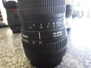 Sigma Camera Lenses