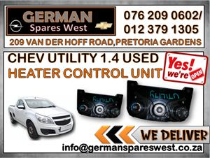 CHEV UTILITY USED HEATER CONTROL UNIT FOR SALE