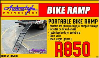 Portable Bike Ramp