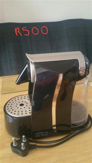 Caffelux Milano capsule coffee machine