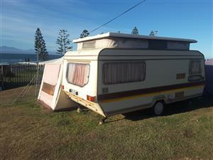 Wilk Topaz Caravan for Rent R250/Day
