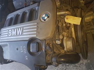 BMW X5 M53 3.0 diesel engine for sale.