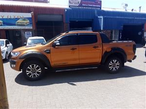2016 Ford Ranger 3.2 double cab 4x4 XLT auto