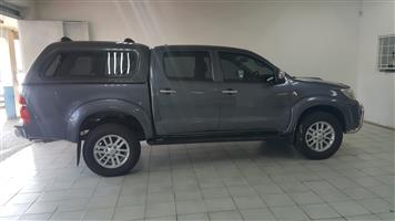2011 Toyota Hilux 3.0D 4D double cab Raider automatic