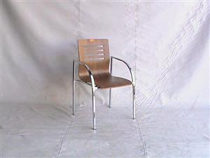 Crome base visitors chair