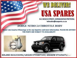 DODGE NITRO 2.8 THROTTLE BODY