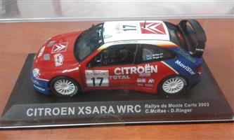 Citroen xsarra wrc racing car
