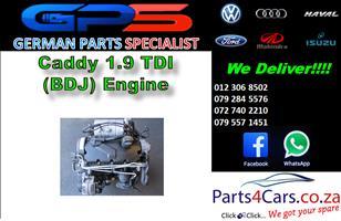 VW Caddy 1.9 TDI (BDJ) Engine for Sale