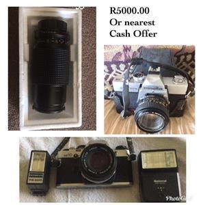 Minolta Camera and lens