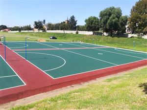 TENNIS COURTS RESURFACING