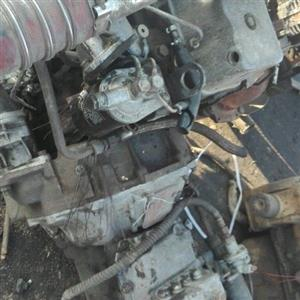 Nissan Cabstar FD46 engine and gearbox