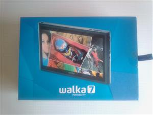 "Walka 7"" Portable TV. In a box. Complete. As good as new."