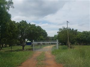 Pretoria 7.8 Ha Plot for Sale