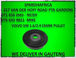 Volvo S40 1.6/1.4 Crank Pulley For Sale