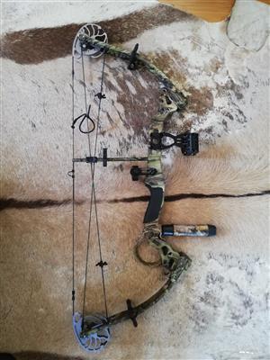 Bowtech Tomkat Compound bow for sale, including kit