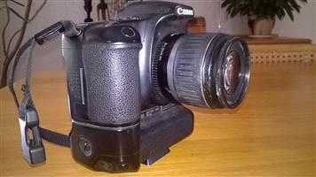 Canon Camera EDS 30D with Battery Grip, Lence EFS 18 - 55 and 16 GB Card