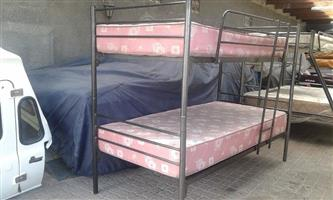 Steel Double Bunk for sale without Mattresses
