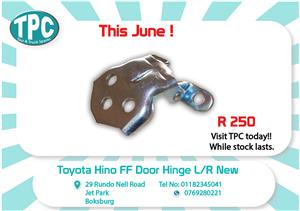 Toyota Hino FF Door Hinge L/R-New for Sale at TPC