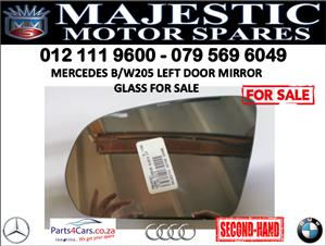 Mercedes W205 door mirror for sale