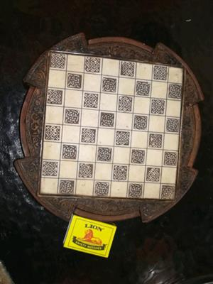 Antique Collector's Item Chess Set