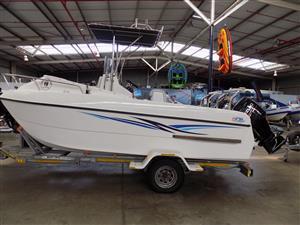 cobra cat 525 centre console on trailer 2 x 70 hp suzuki 4 strokes 120 hours