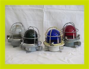 Ships Large Vintage Bulkhead Lights-Priced individually-(SKU 195)