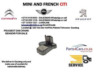 Peugeot 208 crank sensor for sale