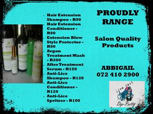 PROUDLY Salon Quality Products