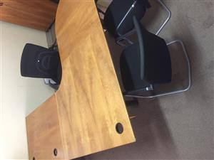 Office Desk – 3 Piece L-Shape