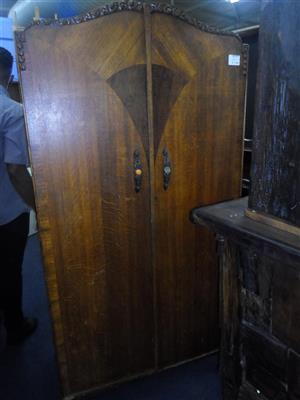 Brown Wooden Cupboard - B033050477-39