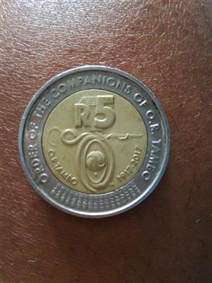 OR TAMBO R5 coin