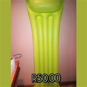 Inflatable green pool floater for sale