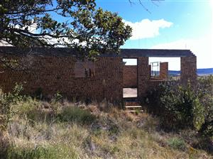 Vaaloewer Vanderbijlpark,  Residential Stand with incomplete Flat Built to Roof Height