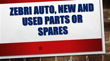 Zebri auto specialize in a variety of new and used parts or spares, rebuilds and used cars for all models of Audi